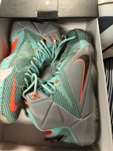 Chaussures Xii Hyper Lebron James Taille Turquoise Gris Nike 11 UVpSqLzMG