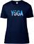 Yoga T-Shirt Ladies Training Fitness Meditation Top Zen Tshirt Gym Gift Sports