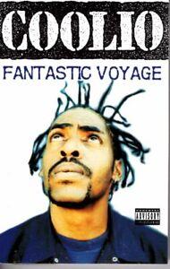 Coolio Fantastic Voyage 1994 Cassette Tape Maxi Single Rap Hiphop