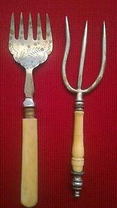 Tenedores-Metal-E-Hueso