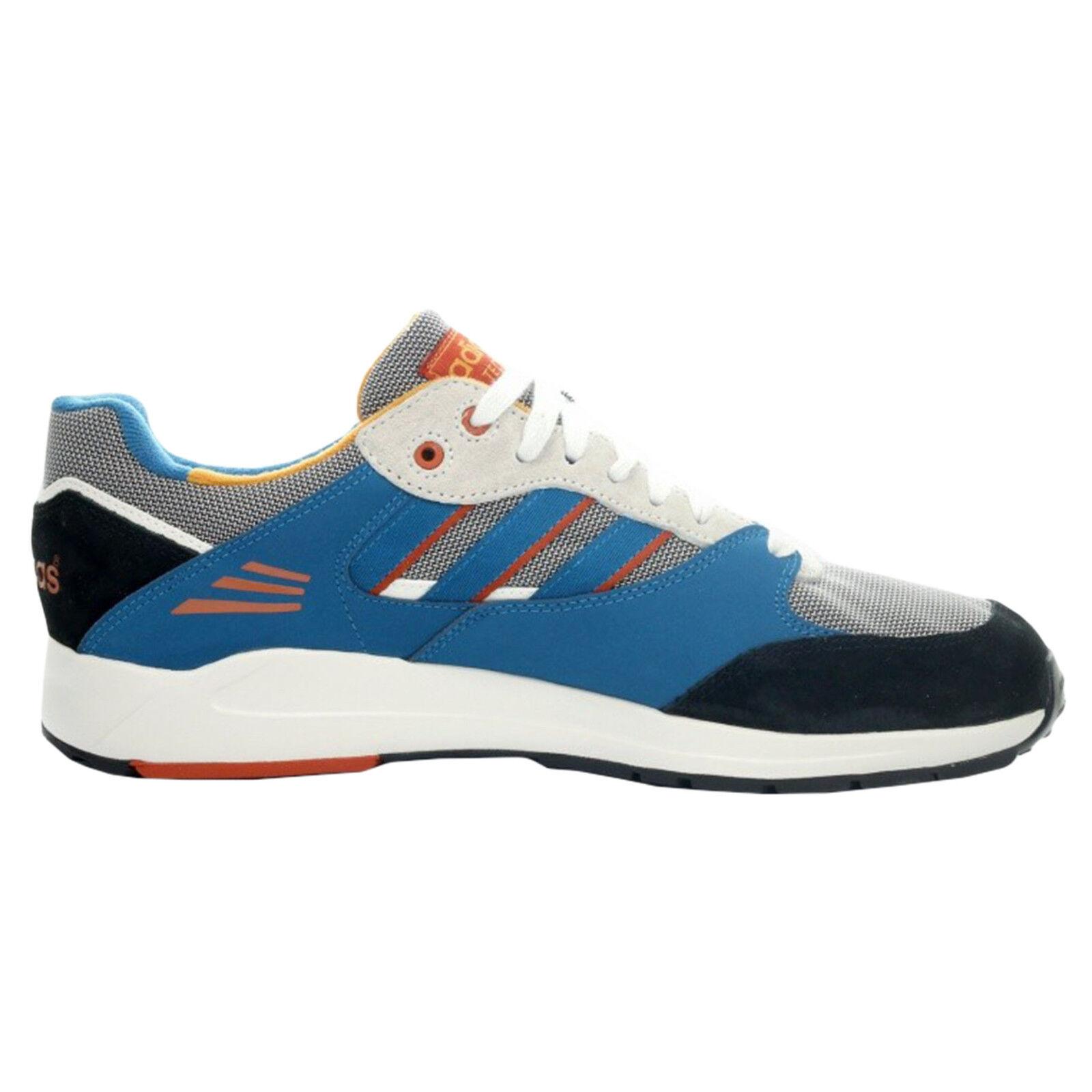 Adidas Originals Para Hombre Azul Tech Súper Entrenamiento Gimnasio Azul Hombre con Cordones Correr Zapatillas 2a8495