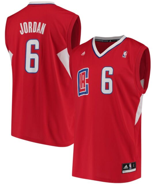 timeless design 96020 53210 NBA DeAndre Jordan La Clippers adidas Replica Jersey M - Red Genuine