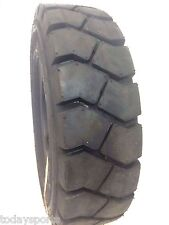 2) new 5.00-8 500-8 FORKLIFT TIRE With Tubes, Flap Grip Plus Heavy duty