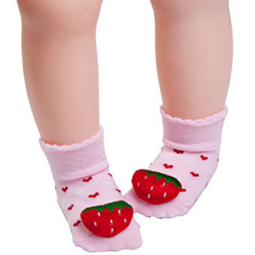Toddler Baby Kids Cartoon Socks Newborn Anti-slip Prewalker Slipper Sock Boots