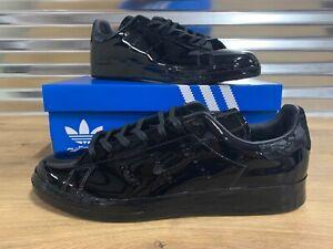 Teoría de la relatividad De tormenta Júnior  Adidas Stan Smith Patent Leather Sample Shoes Black Mens SZ ( BY1607 ) NIB!  | eBay
