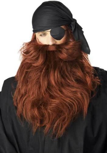 Adult Men Pirate Beard /& Moustache Facial Hair 70489