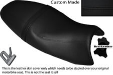 BLACK STITCH CUSTOM FITS TRIUMPH SPEED TRIPLE 08-10 1050 LEATHER SEAT COVER