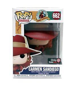 Funko-Pop-Carmen-Sandiego-662-Gamestop-Exclusive-Vinyl-Figure