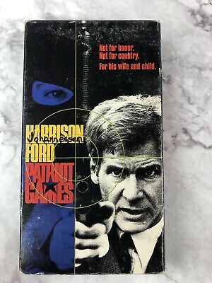 Patriot Games Vhs 1992 97363253037 Ebay