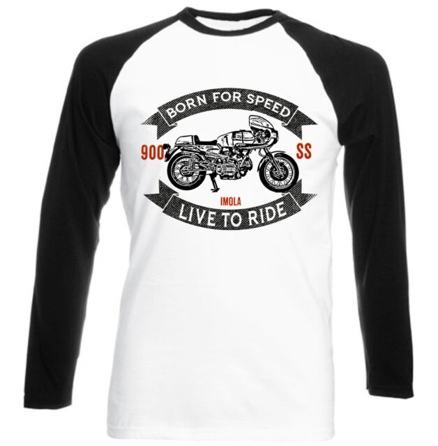 DUCATI 900 SS IMOLA - NEW COTTON TSHIRT - ALL SIZES IN STOCK