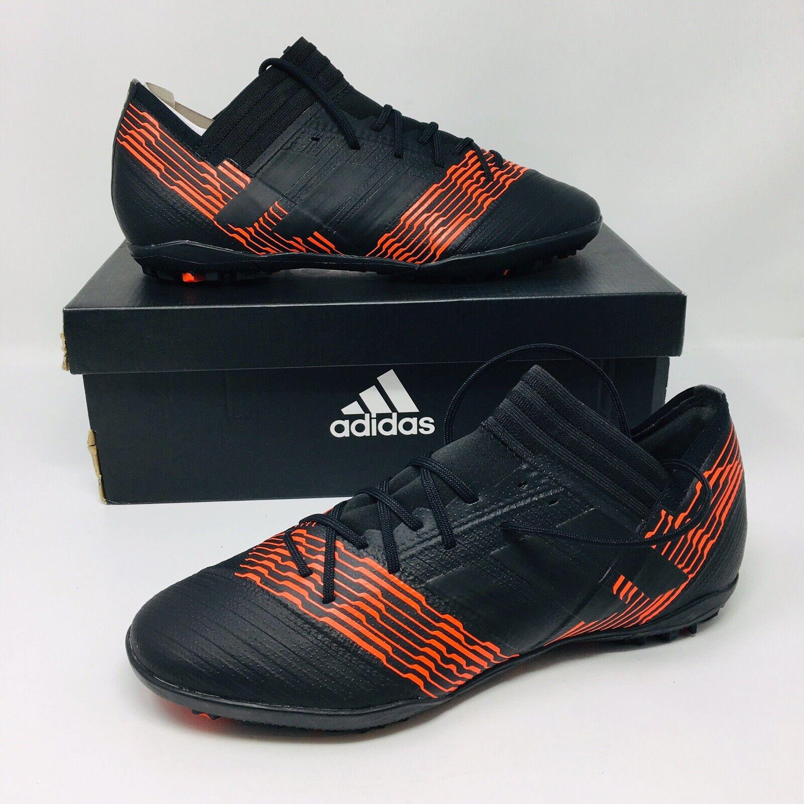 NEW Adidas Adidas Adidas Nemeziz Tango 17.3 TF (Men Size 9) Black Soccer shoes Cleats f3187f