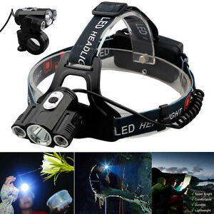15000Lm-Cree-3x-T6-LED-Rechargeable-18650-Outdoor-Headlamp-Headlight-Head-Torch