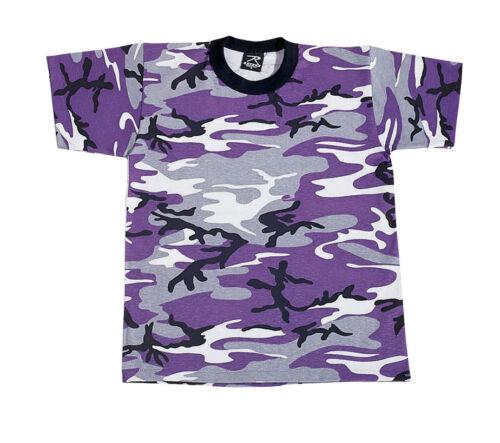 Ultra Violet Camo Rothco 6743 Kids Camo T-Shirts