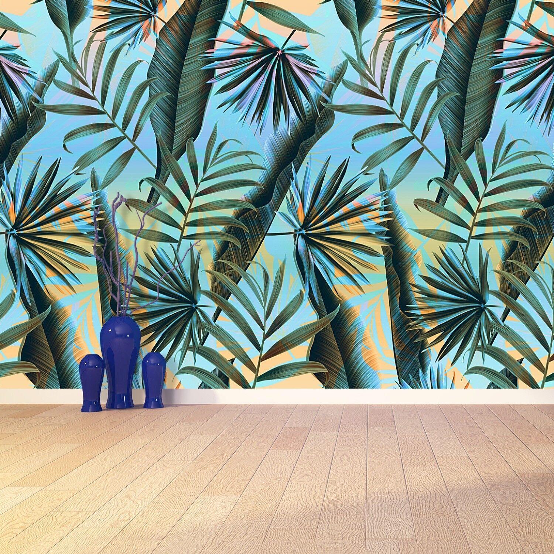 Fototapete Selbstklebend Einfach ablösbar Mehrfach klebbar Pflanzenblätter