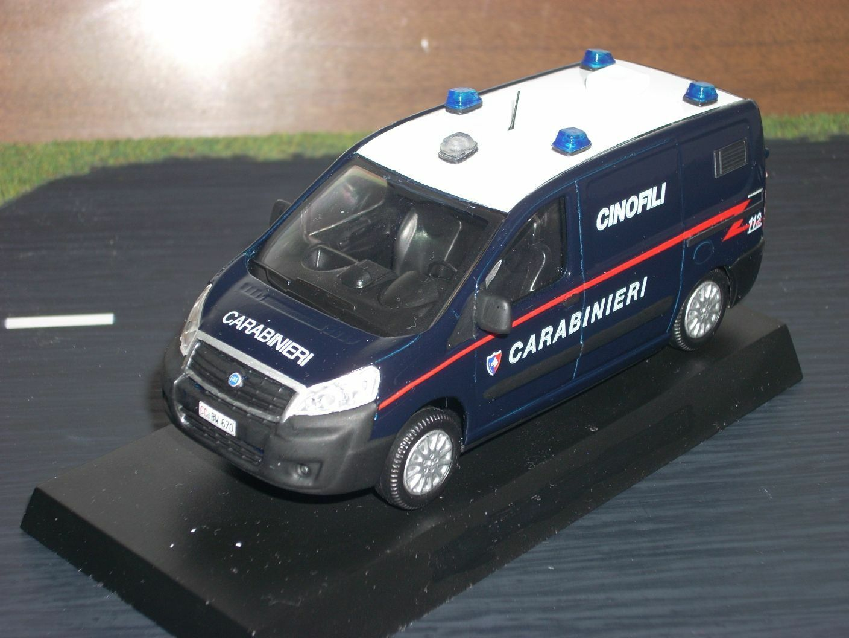 autoABINIERI polizia Fiat Scudo cinofili scala 143
