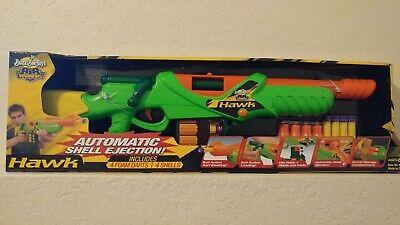 Air Warriors Hawk Rifle Dart Blaster Shell Ejection Buzz Bee Toys Ebay