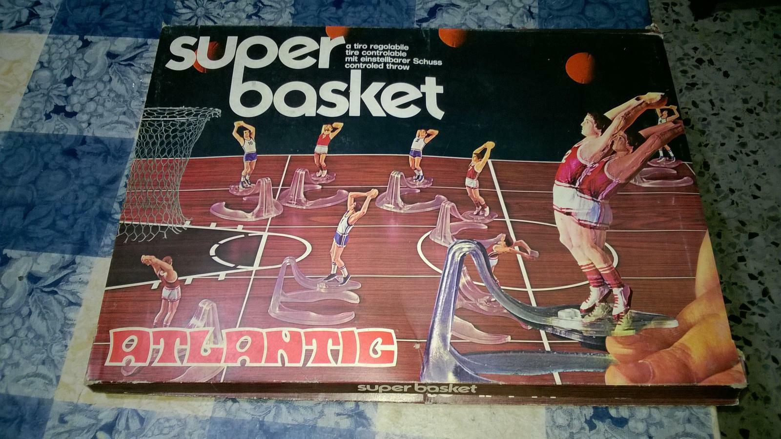 GIOCO ATLANTIC SUPER BASKET  RARISSIMA VINTAGE