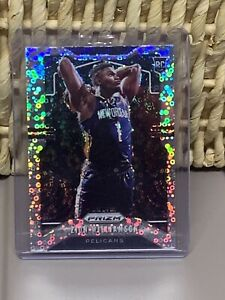 Zion-Williamson-Prizm-Disco-SILVER-BUBBLES-Fastbreak-RC-2021-MVP