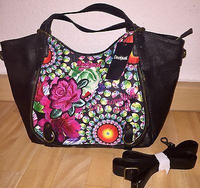 Luxus DESIGUAL Damen Handtasche Tasche NEU m Etikett TOP #D1724