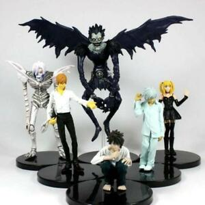 Death-Note-anime-PVC-figure-figures-toys-set-of-6pcs-doll-dolls-new-arrivel