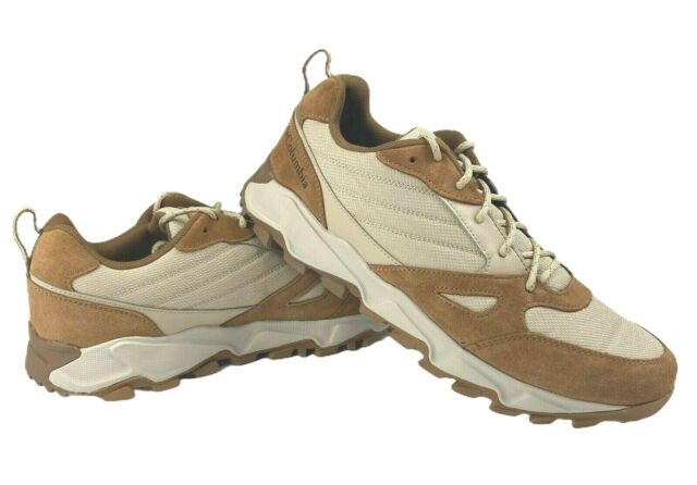 Columbia Mens Ivo Trail Lace Up Hiking Trail Outdoor Shoes 10 Light Brown New