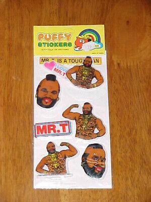 Vintage Moodies Puffy Stickers  1983 In Original Packaging