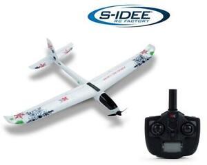 s-idee® XK A800 Flugzeug RC ferngesteuerter Flieger mit 2.4 Ghz