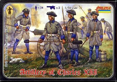 Strelets Models 1//72 SWEDISH ARTILLERY OF CHARLES XII Figure Set