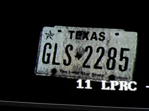 License Plate Capture Camera AHD+TVI+CVI+CVBS 5-50mm Lens 1080p 240ft Night View
