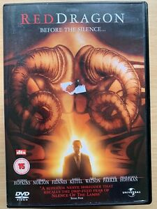 Rojo-Dragon-DVD-2002-Thomas-Harris-Manhunter-Hannibal-Lecter-Pelicula-Suspense