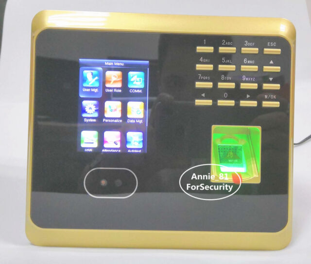 ZKteco TCP/IP Facial And Fingerprint Attendance Time Clock Terminal With  WIFI