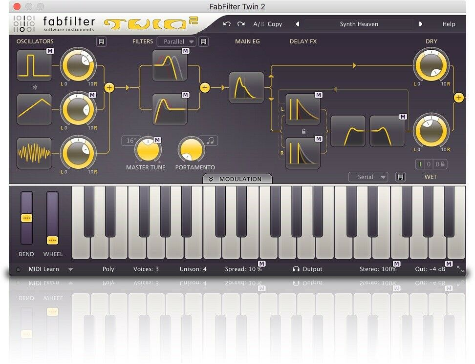 Fabfilter twin 2 full retail 35% off list price