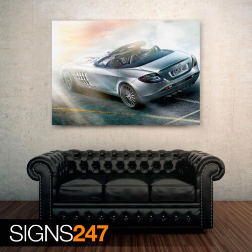Voiture AFFICHE-POSTER print A1 A2 A3 A4 Mercedes Benz SLR McLaren Roadster 0791