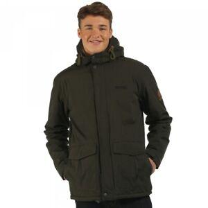 Regatta-Sternway-Mens-Lightweight-Waterproof-Breathable-Jacket-Bayleaf-Size-XXL