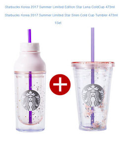Starbucks Korea 2017 Summer Limited Edition Summer Star Lena ColdCup 473ml