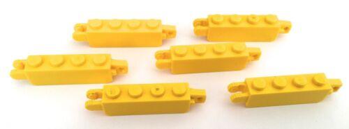 Lego Hinge brick 1x4 locking w 1 /& 2 vertical ends 6 in pack pt 30387 pick color