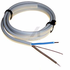 Twin and Earth T/&E Electrical Cable Wire Grey All Sizes Lengths