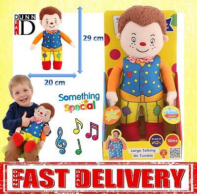 Something Special LARGE Mr Tumble Talking Soft Toy 29cm Doll Cbeebies Toys NEW