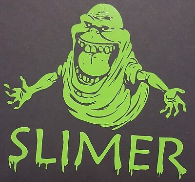 Ghostbusters Slimer Vinyl Decal Window laptop Sticker die-cut