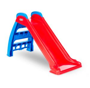 Tobogan para niños resistente y seguro plegable juguete de verano azul rojo