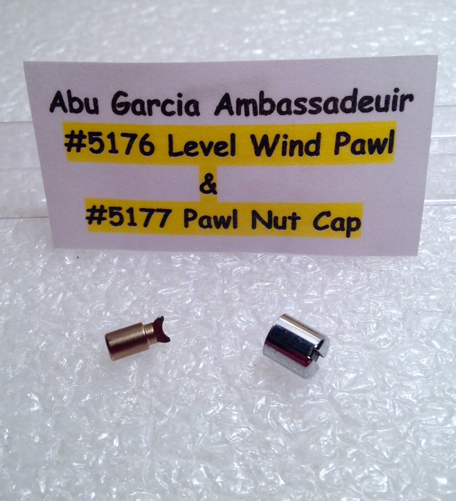 NEW REEL PART ABU GARCIA  AMBASSADEUR 4000 5000 6000 7000 LINE PAWL Part #5176