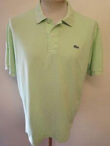 d06e4f447 Genuine Vintage Lacoste men s Green Polo Shirt Size L 42-44