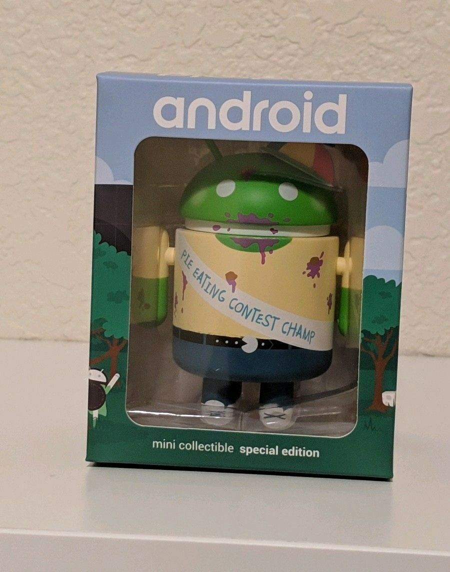 Android Mini Collectible figurine figure special edition - Tech Intern 2018
