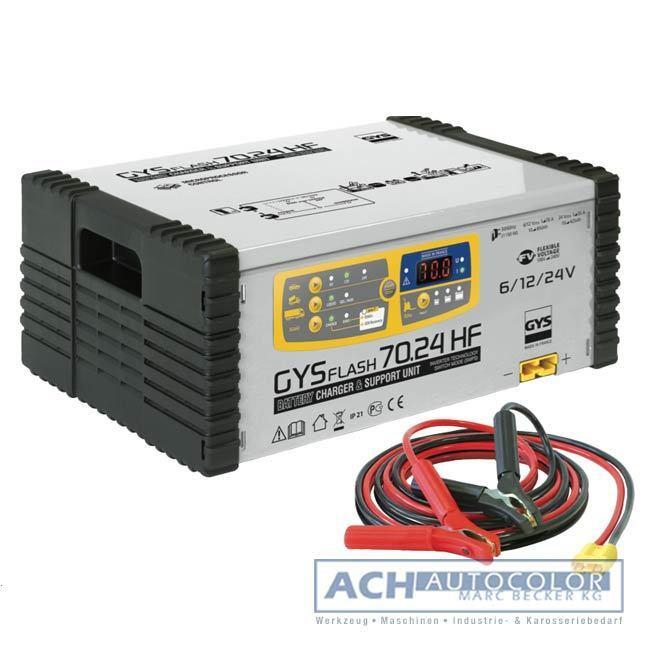 GYS PROFI Batterieladegerät 70-24 HF (SMPS) 029286 NEU