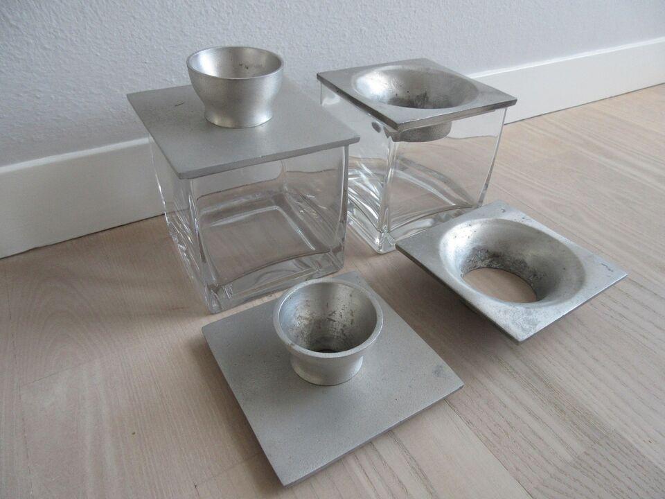 glas med løgholder, ukendt
