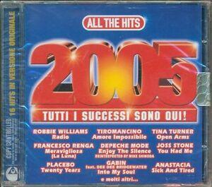 All-The-Hits-2005-Placebo-Depeche-Mode-The-Verve-Kravitz-Tiromancino-Cd-Nuovo