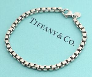 TIFFANY-amp-Co-Venetian-Link-Bracelet-Sterling-Silver-925