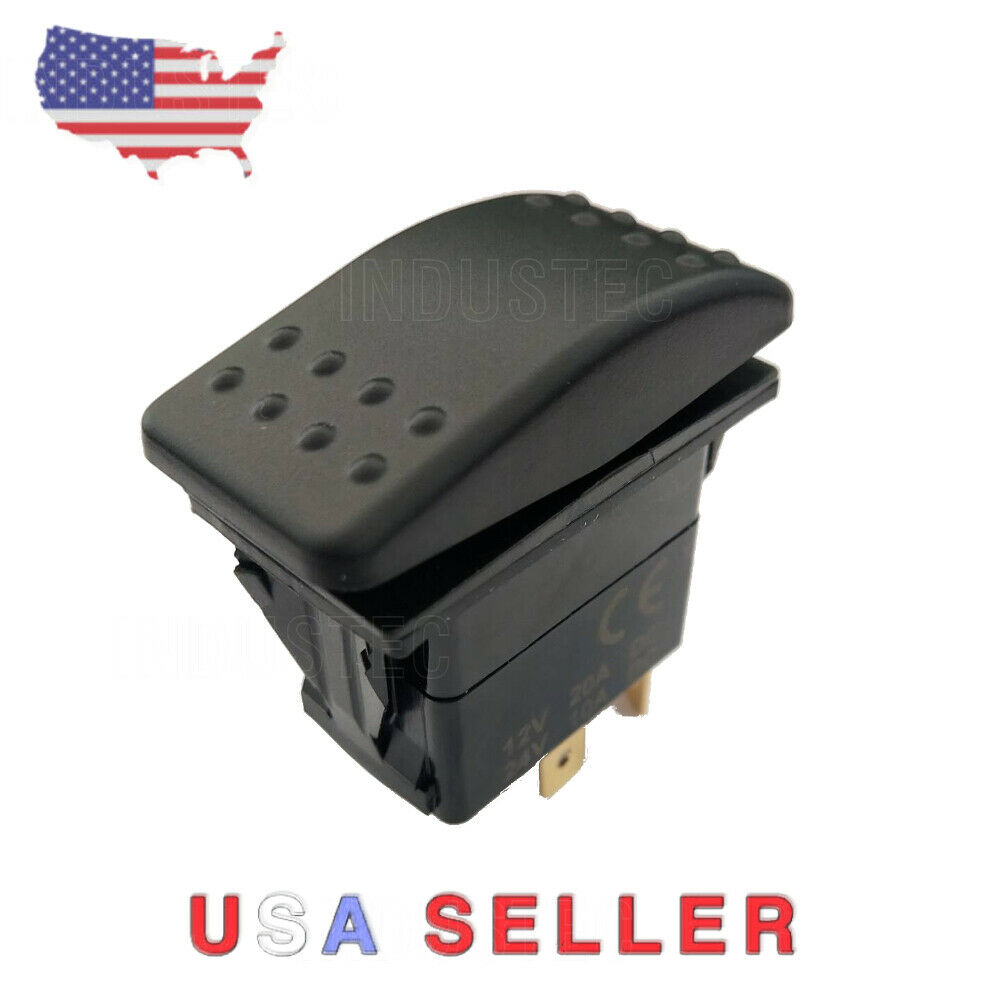 Reverse Polarity Motor Control Momentary 12v 25 AMP Toggle Switch 3 Position