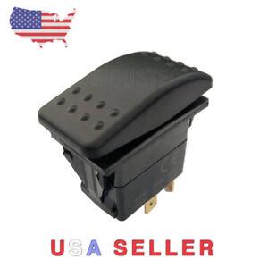Tbrand Momentary Motor Polarity Reverse reversing Rocker Switch Control DPDT DC 12V or 24V