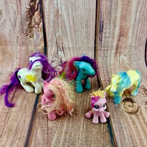 5x-Genuine-My-Little-Pony-Bundle-2003-08-Figures-Various-Styles-ponies-horses